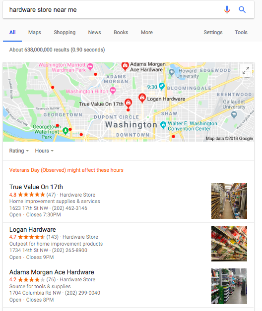 Google My Business Listings_Hardware Store Near Me