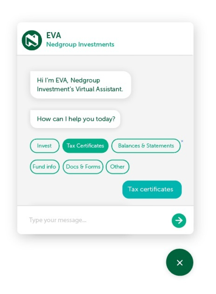 Nedbank's chatbot helps customers and cuts costs.