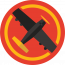 Black Airplane Logo
